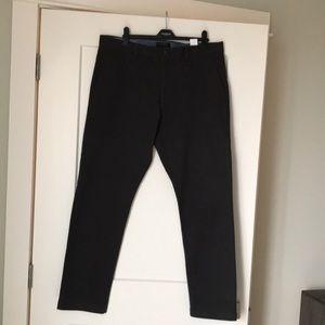 Men's Banana Republic Grey Chino Fulton Trousers